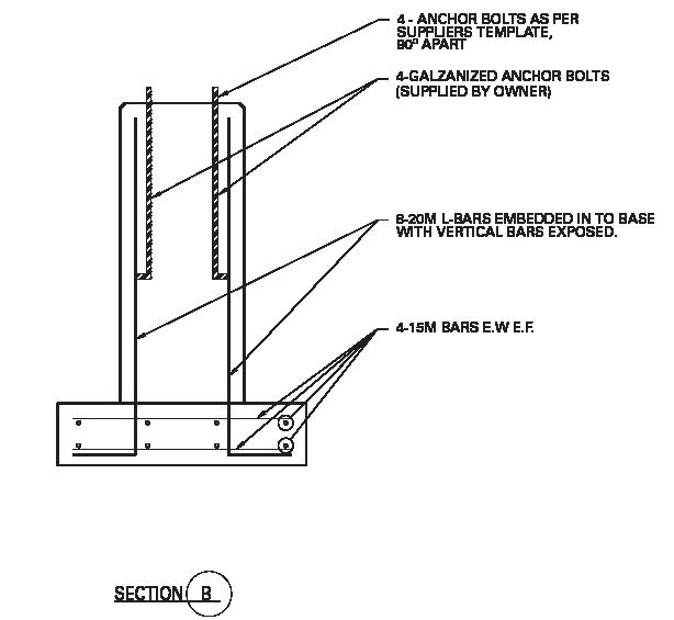 Conduit In Concrete Pole :